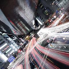 bushiya intersection (planet-110) Tags: longexposure nightphotography urban japan tokyo asia cityscape nightshot shibuya multipleexposure   intersection  afterdark traffictrails   lightstream nightimage sigma1020mmf456exdchsm