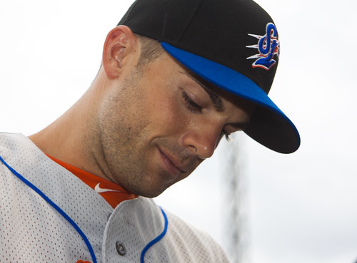 David Wright smiles by Michael G. Baron