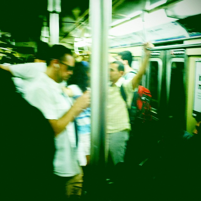 C train, Brooklyn-bound