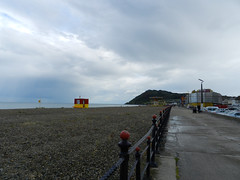 Rainy & sunny Saturday afternoon on Bray Seafront