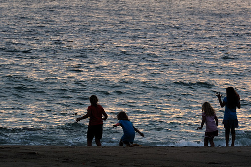 Sunset in Torrance Beach