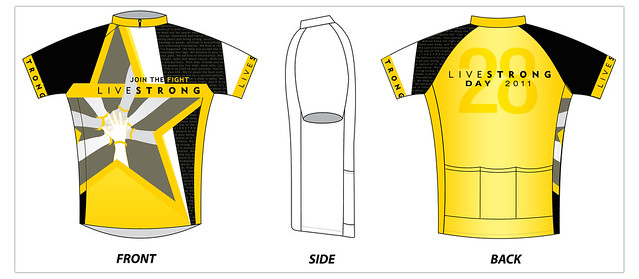 Livestrong Day 2011 Jersey