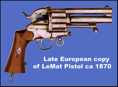LeMat Revolver, European Copy