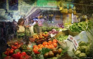 La Boqueria Market - Barcelona