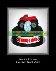 Norie's Kitchen - Monster Truck Cake (Norie's Kitchen) Tags: birthday cakes cake philippines pickup tire custom cavite monstertruck norieskitchen