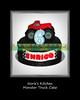 Norie's Kitchen - Monster Truck Cake (Norie's Kitchen) Tags: birthday cakes cake philippines pickup tire custom cavite monstertruck norieskitchen