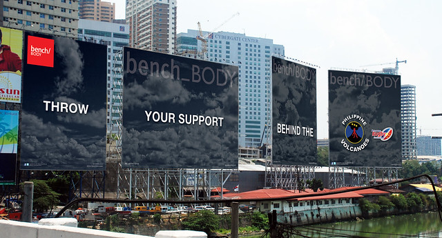 Bench billboards