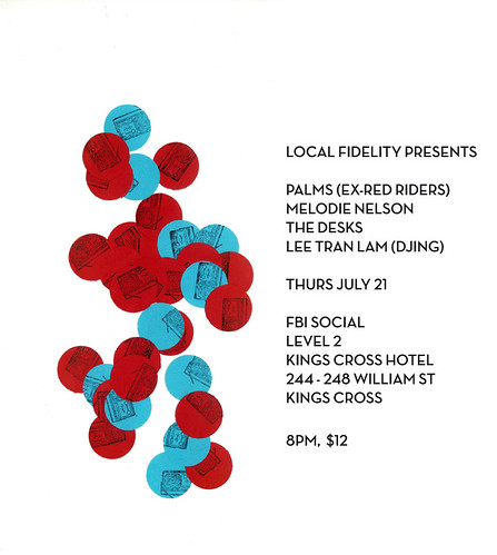 Local Fidelity Thurs July 21 gig poster