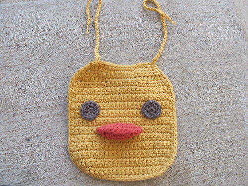 Duckie Bib for Baby E