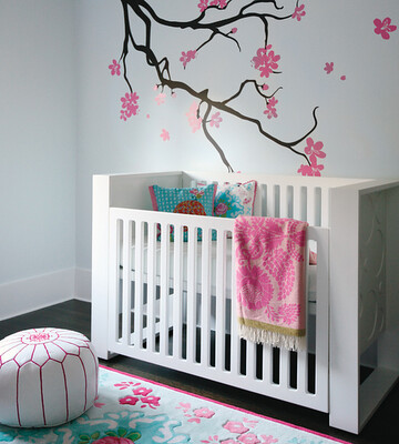 baby girl nursery style at home