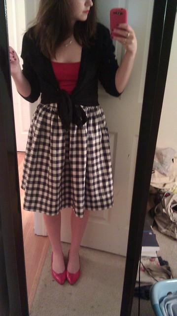 Vogue Inspired Skirt