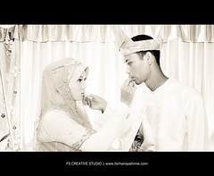 Izzad & Wani (Farhan Syahmie) Tags: wedding hijab kota kotabharu kahwin bahru kelantan