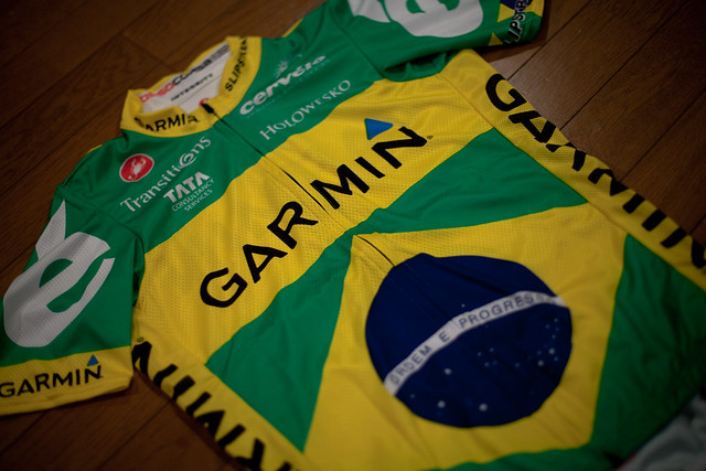 Garmin Cervélo Brazilian Champ Jersey