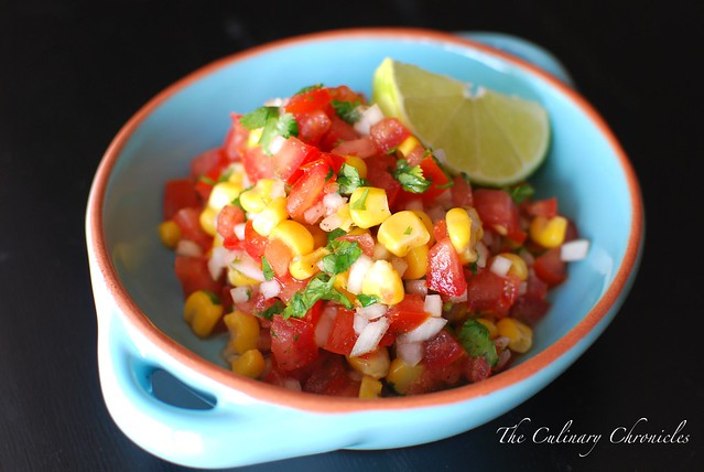 Fresh Corn Pico de Gallo
