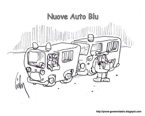 Nuove Auto Blu by Livio Bonino