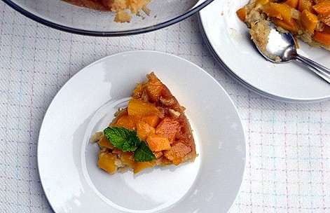 Mango Upside Down Cake5