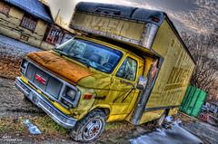 Abandoned Ryder Rental Truck