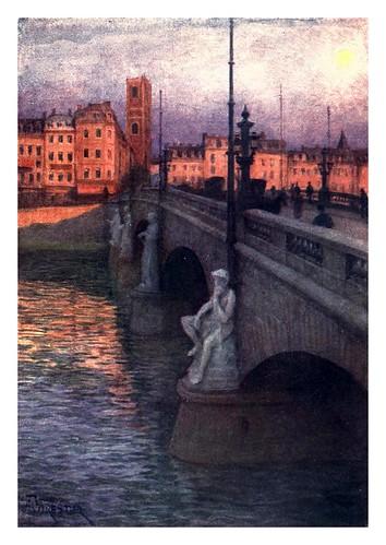 016-Puente de los arcos en Lieja-Belgium 1908- Amédée Forestier