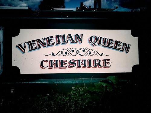 River Lea boat names