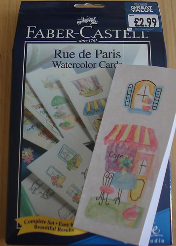 Rue de Paris Watercolour Card Set