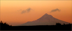 Earth (ohkayeor) Tags: mountain silhouette oregon portland mthood predawn theelements odc1 marinedr