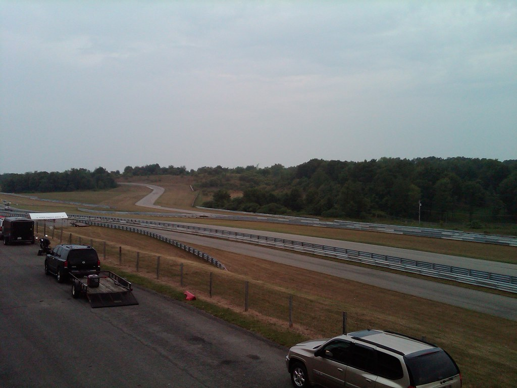 Beaverun, PA: NESBA track day, early-morning
