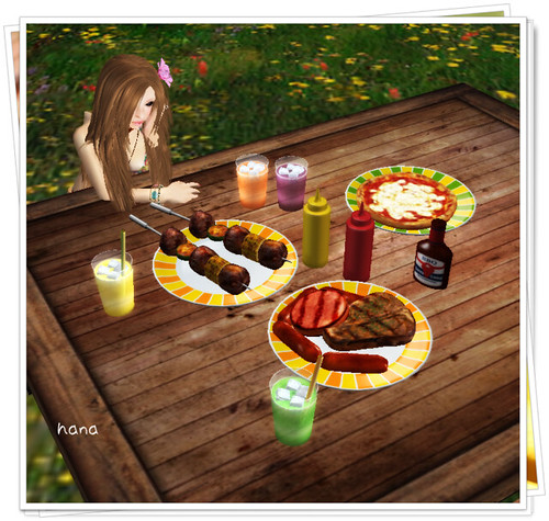 .::ToRiCo::. BBQ Food set (BOX)
