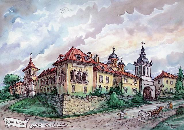 Arhivele Statului, Bucuresti, Romania