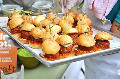 Locanda Verde's Lamb Meatball Slider
