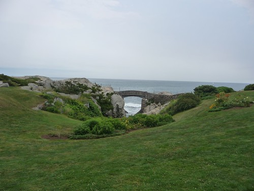 Cliff walk bridge