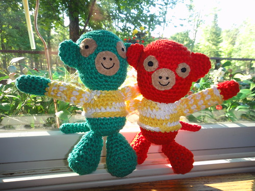 Monkeys for Malcolm & Esme.