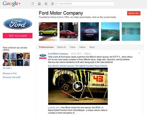 Google+ Ford