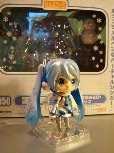 Nendoroid Hatsune Miku Snow Playtime Edition 2011.