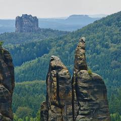 Brosinnadel Panorama (Hallenstein) Tags: natur sandstein hdr falkenstein felsen schsischeschweiz szene brosinnadel
