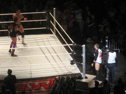 Alex Riley and Zack Ryder challenge R-Truth and The Miz