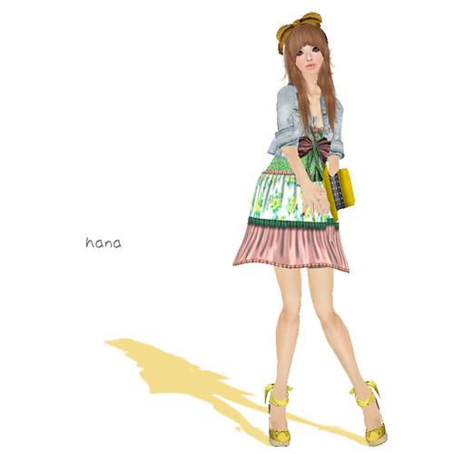 [: B!ASTA :] :GARDEN PARTY: Summer dress (Gift July 2011)