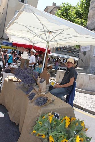Forcalquier - mercato