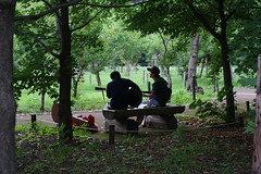 practice at Maruyama Park (mamako7070) Tags: park sapporo hokkaido maruyama