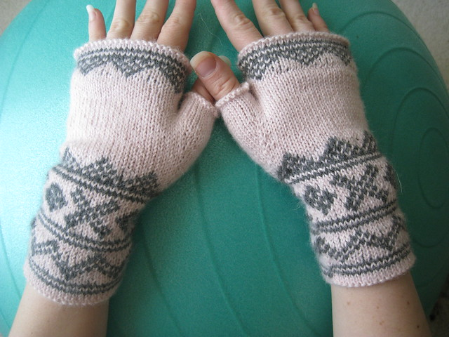 first fair isle mitts