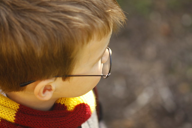 Ryder as Harry Potter