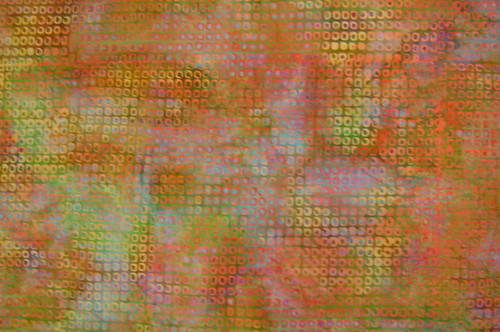 Art Bee Challenge Fabric (Close-up) by basketcasejoy