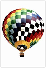 Hot Air Balloon (noam koren) Tags: white fire frame cs nk selective d300 airballoon 2011