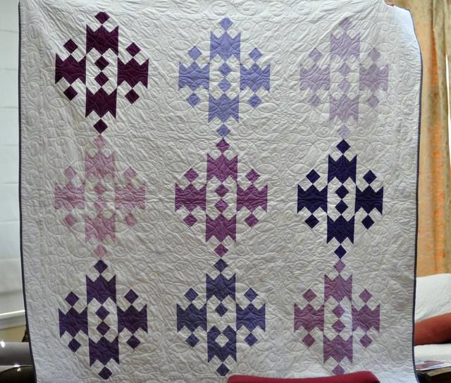 Purple-Lavender Quilt
