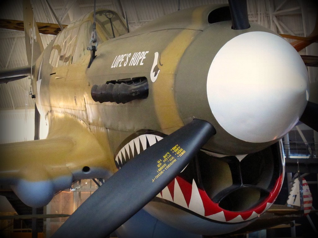 CURTISS P40E (KITTYHAWK IA)