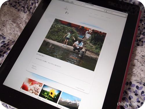 ふわ女子写真部 紹介 iPad2