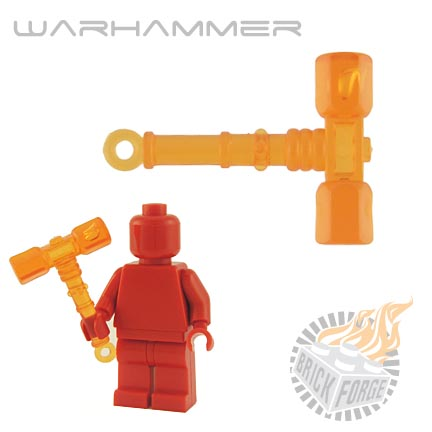 War Hammer (of Fire) - Trans Orange