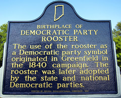 Birthplace of Democratic Party Rooster