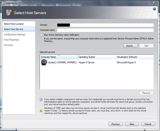 Hyper-V Server 2008 R2 + SCVMM 2008 #2