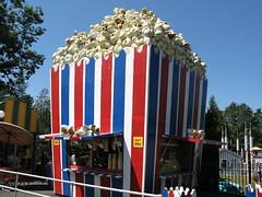 Rollercoaster Tycoon Popcorn kraampje