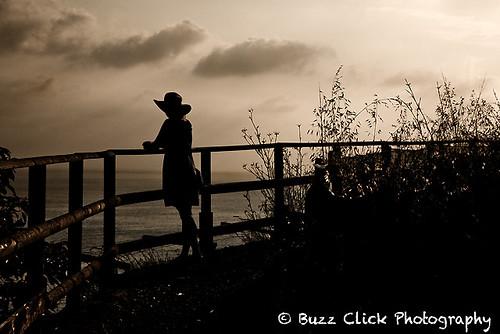 Kris overlooking the Mediterranean Sea